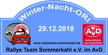 Winter-Nacht Ori 2018